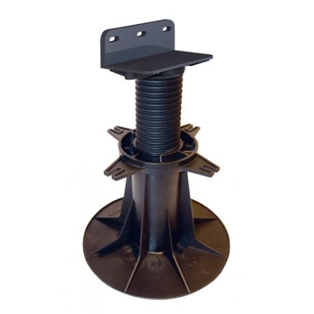 Plot réglable terrasse bois B150 de 160 à 230mm - Bugal