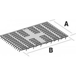 Plaque de réparation à griffes - 76  X 152 - SIMPSON