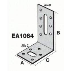 Equerre d'assemblage EA1064/2,5 - 100x60x40x2,5mm - SIMPSON