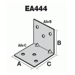 Equerre d'assemblage EA444/2- 40x40x40x2mm- SIMPSON