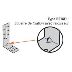 Equerre de fixation renforcée EFIXR553 - 50x55x30x2mm - SIMPSON