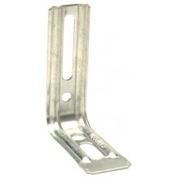Equerre nervurée droite END85/1,5 - 85x71.5x30x1.5mm - SIMPSON