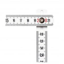 Mesure pliante synthétique - 2m x 16mm -STANLEY