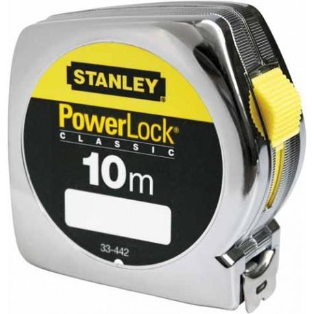 Mètre à ruban 10M X 25MM POWERLOCK CLASSIC ABS