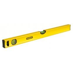 Niveau tubulaire CLASSIC - 3 fioles - 100cm - STANLEY