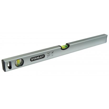Niveau tubulaire magnétique CLASSIC - 3 fioles - 150cm - STANLEY