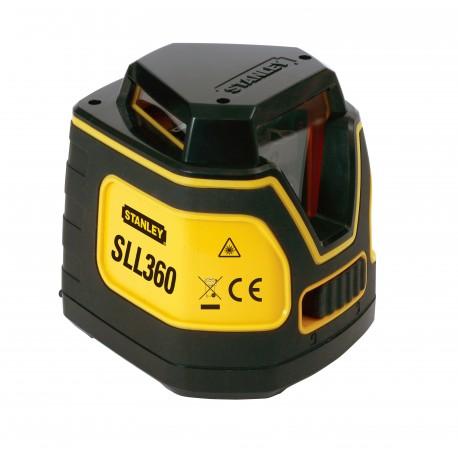 Kit Niveau Laser SLL360 + Trepied + Crémaillère d'ajust. vertical + Etui - STANLEY