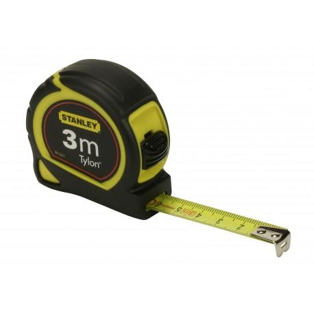 Mètre à ruban TYLON 3M X 12,7MM STANLEY