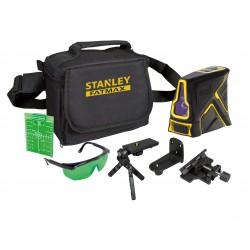 Kit Niveau Laser Croix FCL-G vert + mini-trépieds + cible + lunettes + sac de transport - FATMAX