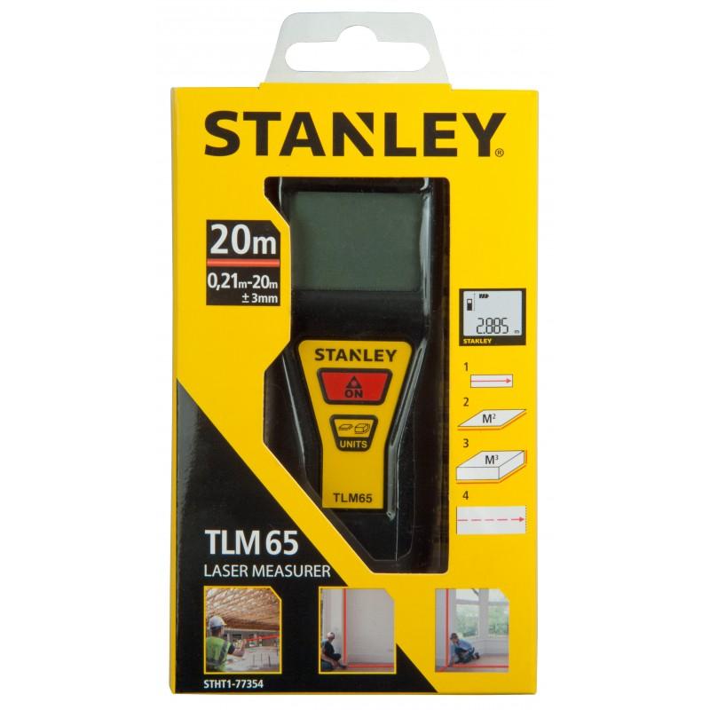 T l m tre mesure laser tlm 65 pro 20m stanley manubricole - Telemetre laser stanley ...