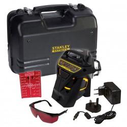 Kit Niveau laser Multiligne X3R 360° ROUGE+ Accesoires + Malette - STANLEY