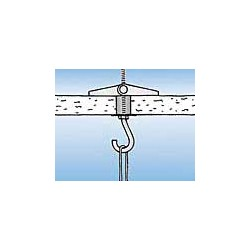 Chevilles à ressorts KB-R - fixation dans les matériaux creux - M6 - 10 Pièces - FISCHER