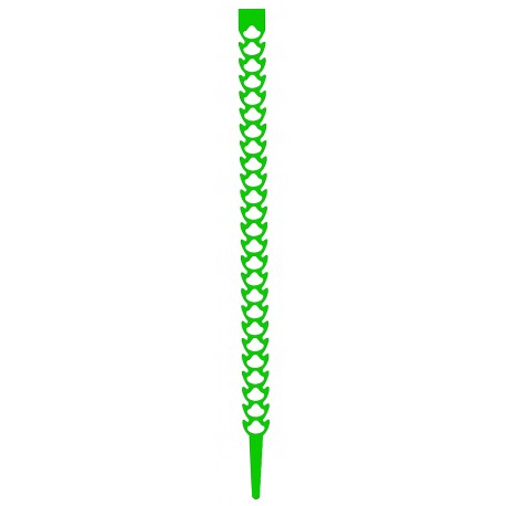 Attache multifonctions FLEXI-FIX - Vert - Sachet de 20 pcs - FISCHER
