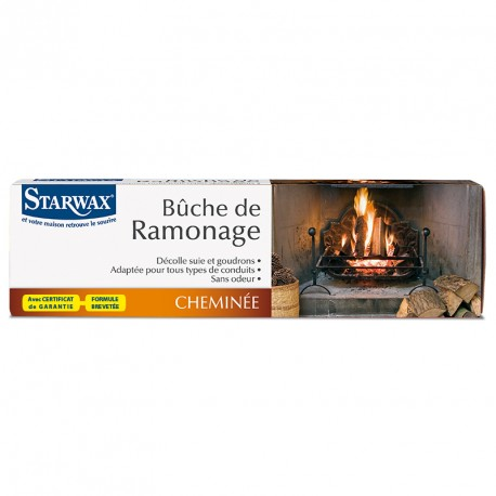 Bûche de ramonage - STARWAX