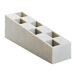 Carton de 50 Cales crantées multi-usages - 50X45X150 - GRISES