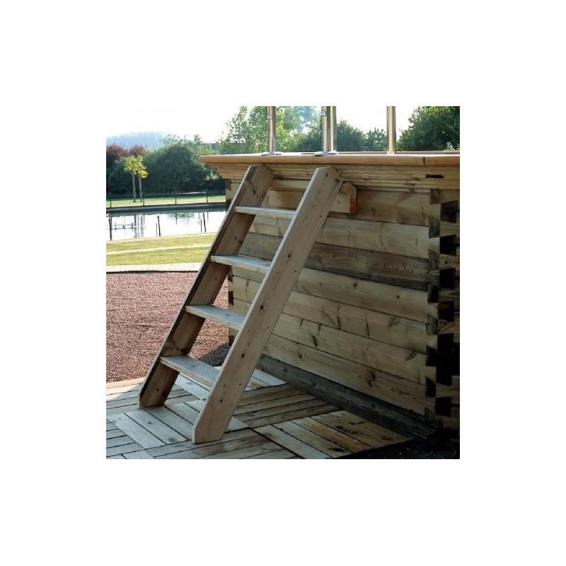 gardipool octoo 5 00 x 1 33 margelle pin piscine bois. Black Bedroom Furniture Sets. Home Design Ideas