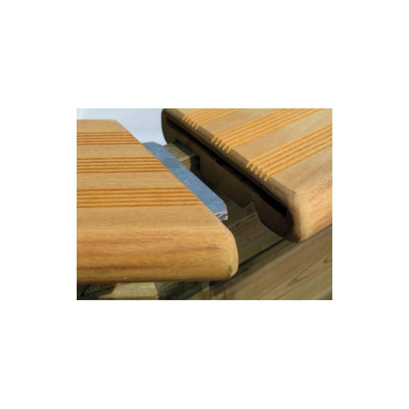 gardipool octoo 4 00 x 1 20 margelle ipe piscine bois manubricole. Black Bedroom Furniture Sets. Home Design Ideas