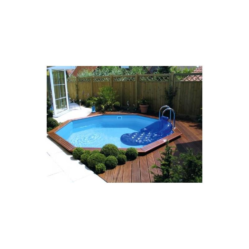 Gardipool octoo 4 00 x 1 20 margelle ipe piscine bois for Piscine 1m20