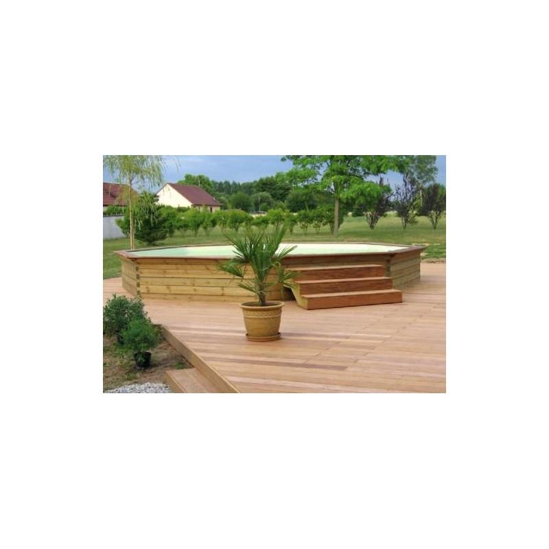 gardipool octoo 4 20 x 1 20 margelle ipe piscine bois manubricole. Black Bedroom Furniture Sets. Home Design Ideas