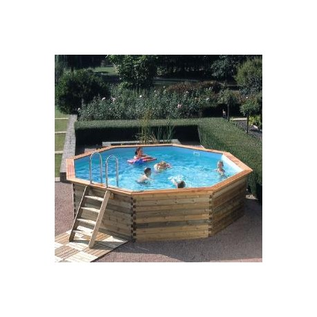 Gardipool octoo 5 00 x 1 33 margelle ipe piscine bois for Piscine 33
