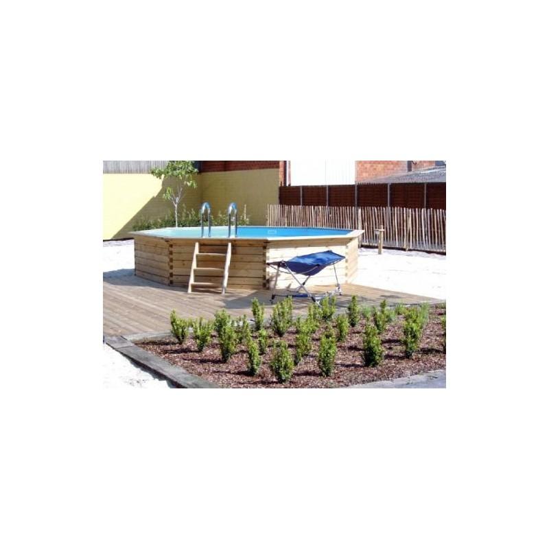 Gardipool octoo 6 25 x 1 33 margelle ipe piscine bois for Margelle piscine bois