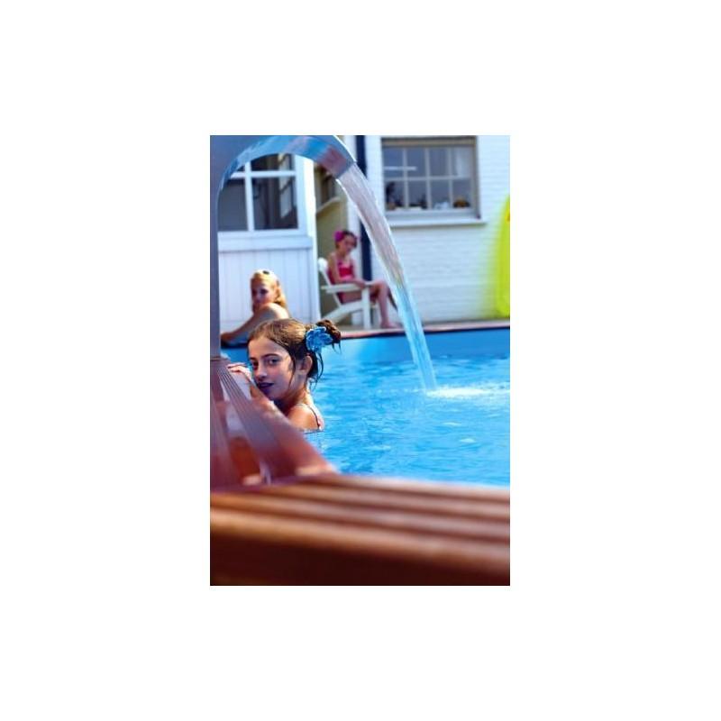Gardipool octoo 6 25 x 1 33 margelle ipe piscine bois for Accessoire piscine 33