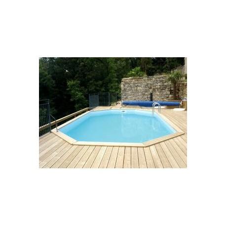 Gardipool oblong 3 90 x x 1 33 margelle pin piscine for Accessoire piscine 33