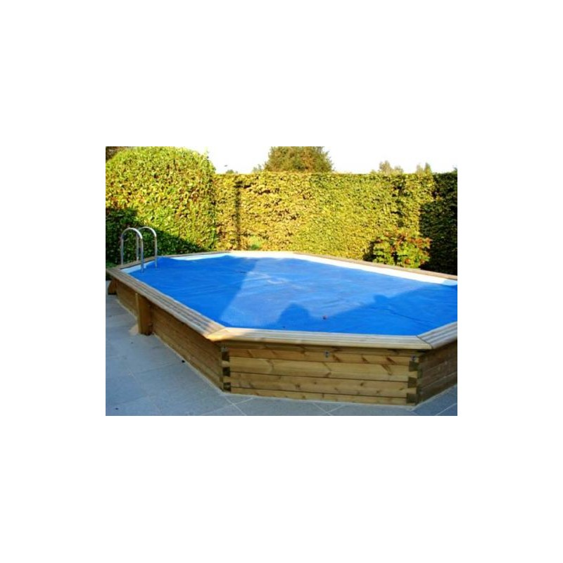 Gardipool oblong 3 90 x x 1 33 margelle pin piscine for Piscine 33