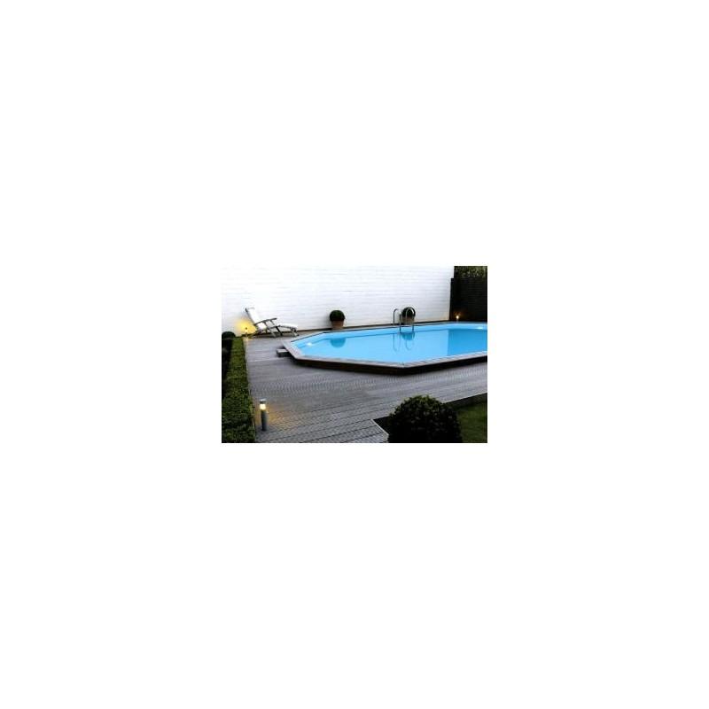 gardipool oblong 3 90 x x 1 33 margelle ipe piscine bois manubricole. Black Bedroom Furniture Sets. Home Design Ideas