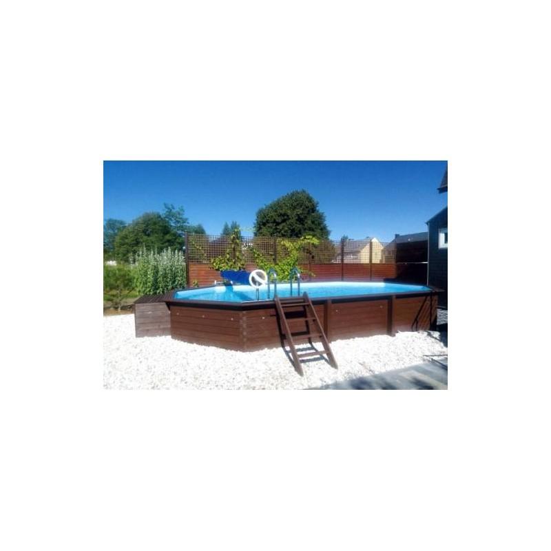 gardipool oblong 3 90 x x 1 46 margelle ipe piscine bois manubricole. Black Bedroom Furniture Sets. Home Design Ideas
