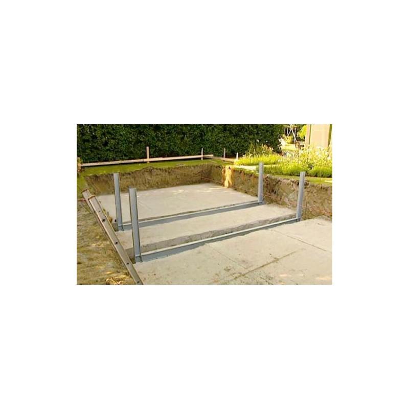 gardipool oblong 4 60 x x 1 33 margelle pin piscine bois manubricole. Black Bedroom Furniture Sets. Home Design Ideas