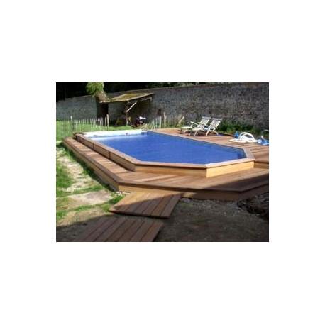 gardipool rectoo 3 90 x x 1 33 margelle ipe piscine bois manubricole. Black Bedroom Furniture Sets. Home Design Ideas