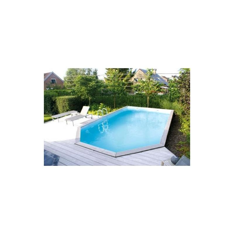 gardipool rectoo x x 1 46 margelle ipe piscine bois manubricole. Black Bedroom Furniture Sets. Home Design Ideas