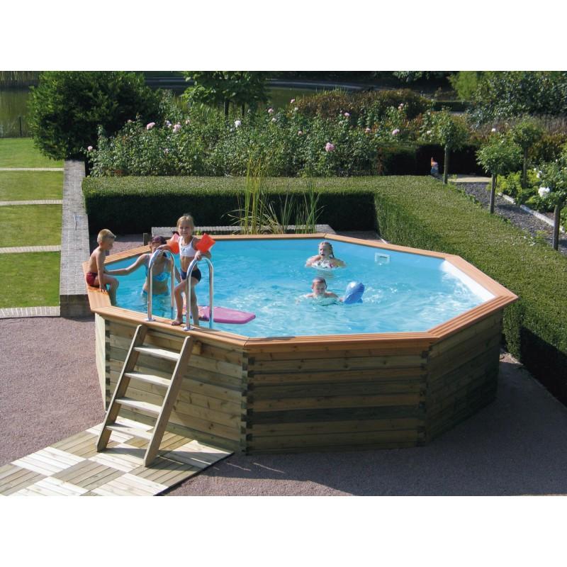 liner pour piscine octoo 400 h120 gardipool manubricole. Black Bedroom Furniture Sets. Home Design Ideas