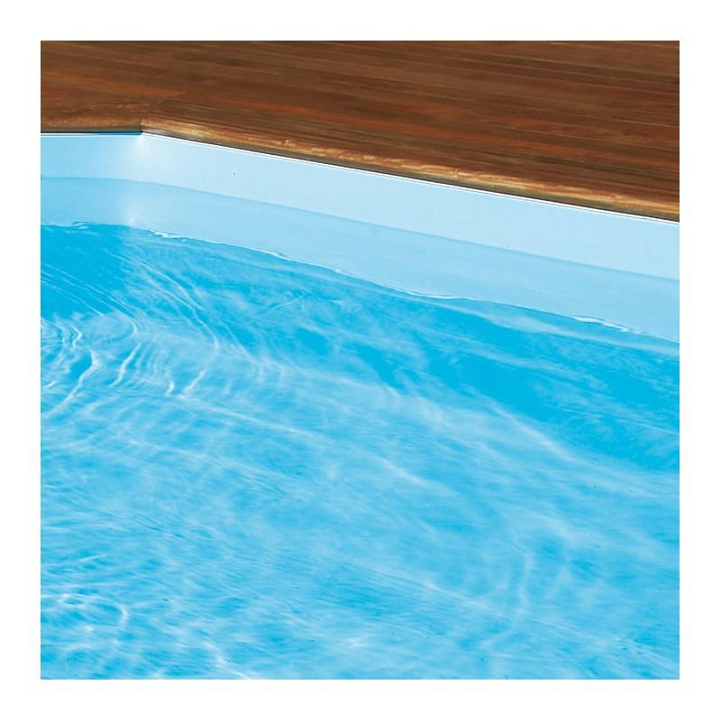 Aqualiner pour piscine rect 850 x 450 x 146 manubricole for Liner piscine turquoise