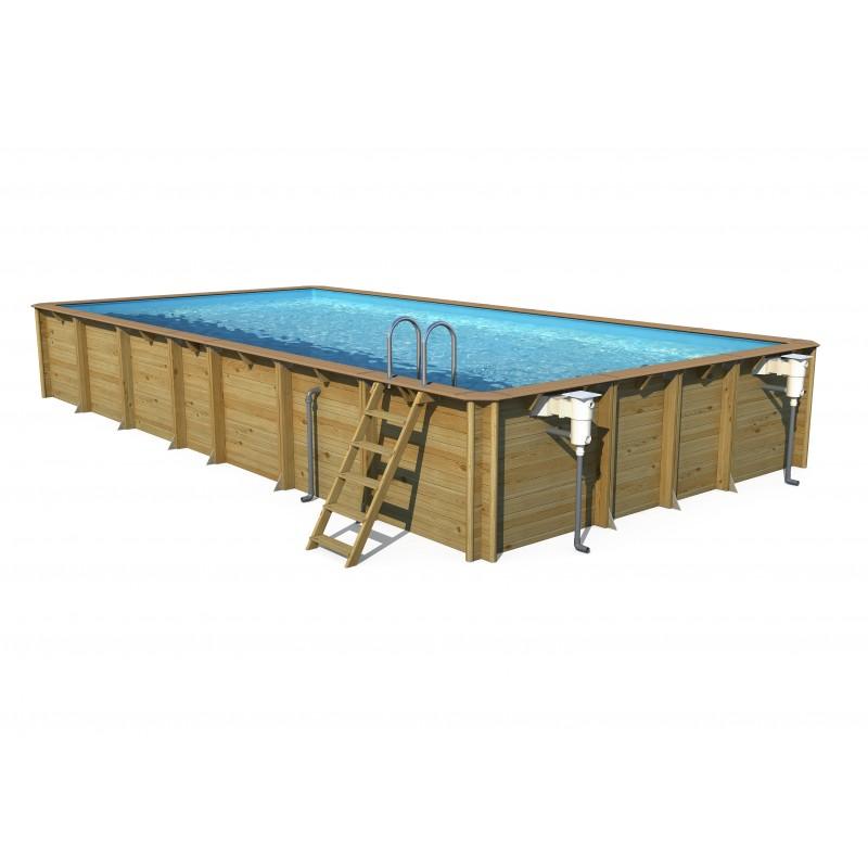 Aqualiner pour piscine rect 1050 x 550 x 146 manubricole for Liner piscine turquoise