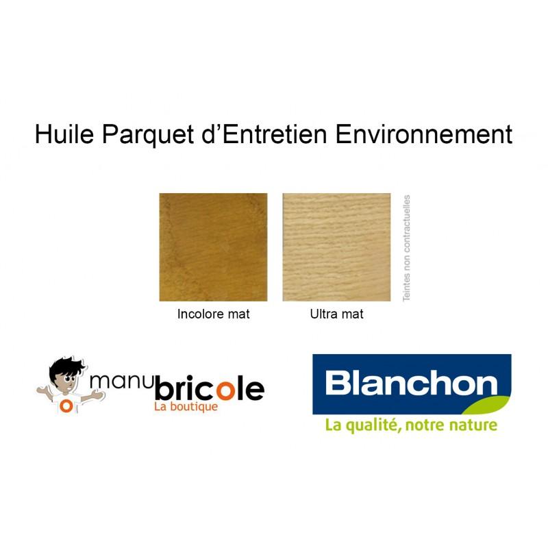 Huile parquet d 39 entretien environnement incolore mat 1 litre manubricole - Parquet chene huile entretien ...