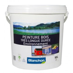 Peinture très longue durée Blanc - Environnement - BLANCHON - 10 litres