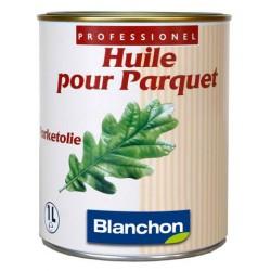 Huile parquet - BLANCHON - Noire - Bidon de 1 litre