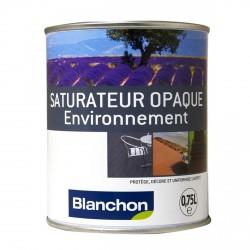 Saturateur Opaque Environnement - Noir ébène - Blanchon - Pot de 0.75 litre