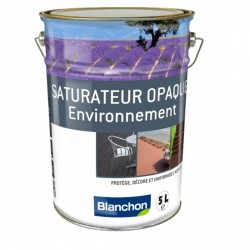 Saturateur Opaque Environnement - 5L - Finition Opaque  Noir Ebene-  Blanchon