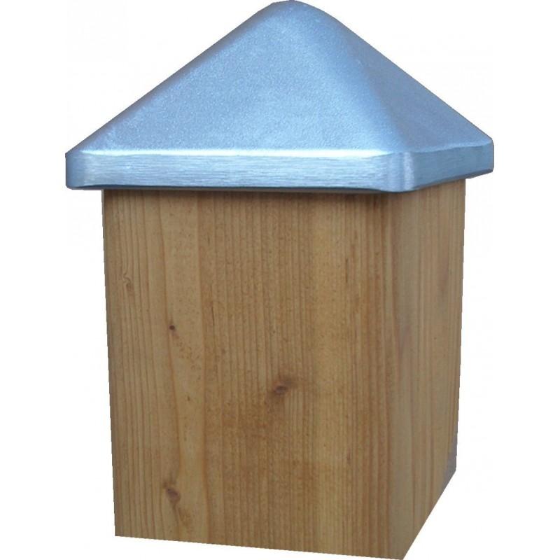 chapeau pour poteau bois 7x7 manubricole. Black Bedroom Furniture Sets. Home Design Ideas