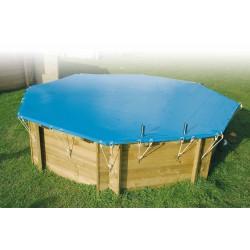 Bâche de sécurité pour piscine Azura 200 x 350 cm - Ubbink