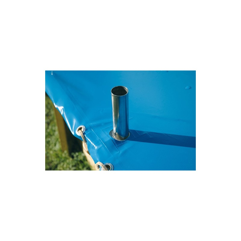 B che de s curit pour piscine azura 430 cm ubbink for Bache piscine securite