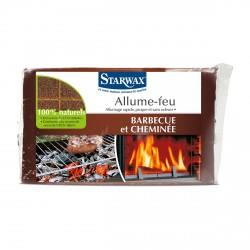 Allume feu - 100% Naturel - 28 pièces - STARWAX