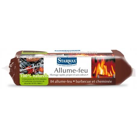 Allume feu - 100% Naturel - 84 pièces - STARWAX