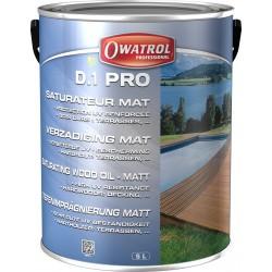 D1 PRO - spécial bois exotiques gris vieilli naturel - Pot 5 L