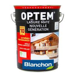 Optem Lasure Mate - Incolore satiné - BLANCHON - Bidon 2,5L