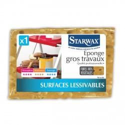 Eponge végétale gros travaux - Starwax