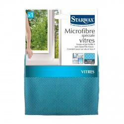 Microfibre spéciale vitres, texture nid d'abeilles - Starwax